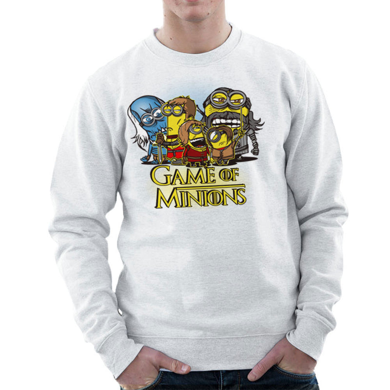 Game Of Thrones Minions Men's Sweatshirt by AndreusD - Cloud City 7