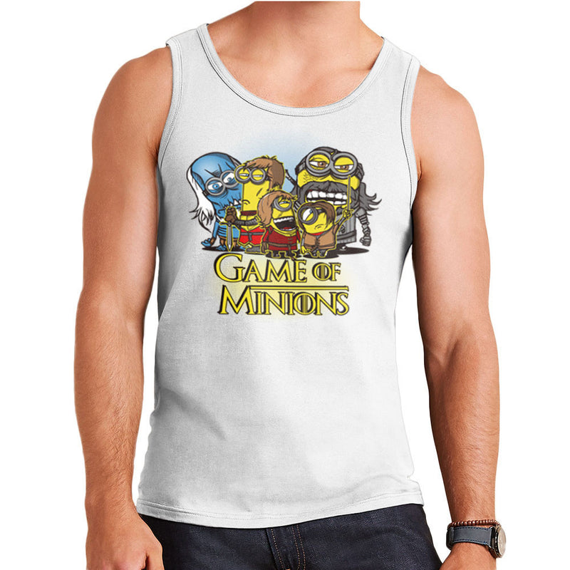 Game Of Thrones Minions Men's Vest by AndreusD - Cloud City 7