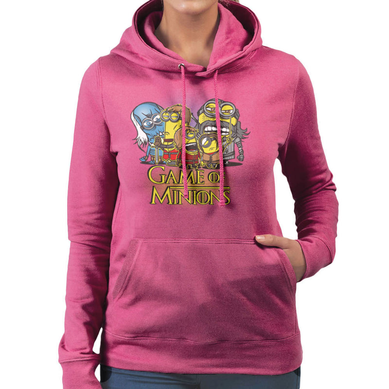 Game Of Thrones Minions Women's Hooded Sweatshirt by AndreusD - Cloud City 7