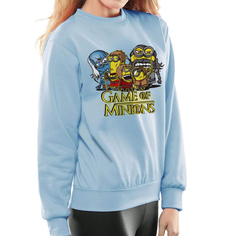 Game Of Thrones Minions Women's Sweatshirt by AndreusD - Cloud City 7