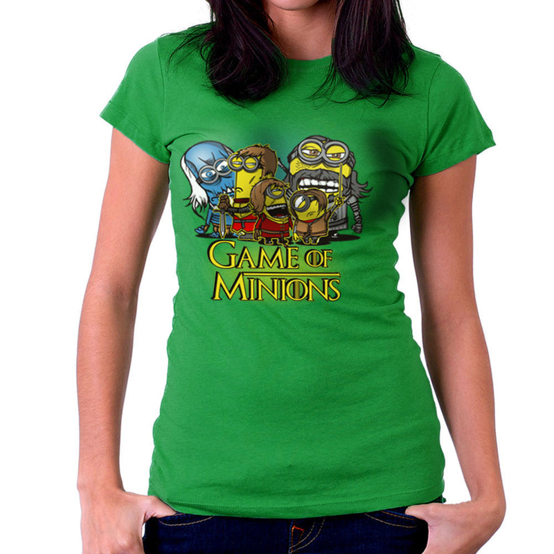 Game Of Thrones Minions Women's T-Shirt by AndreusD - Cloud City 7
