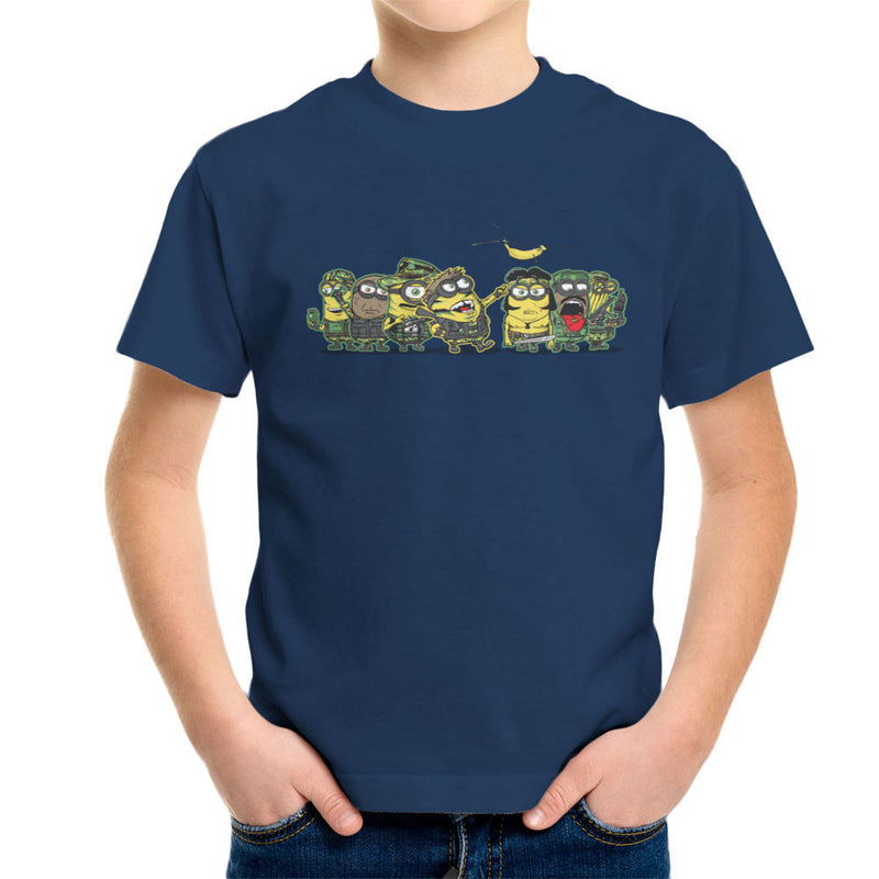 Minions Meat Grinder Platoon Kid's T-Shirt by AndreusD - Cloud City 7
