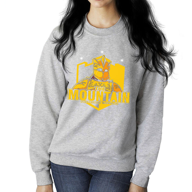 The Mountain Protective Services Gregor Clegane Game Of Thrones Women's Sweatshirt by AndreusD - Cloud City 7