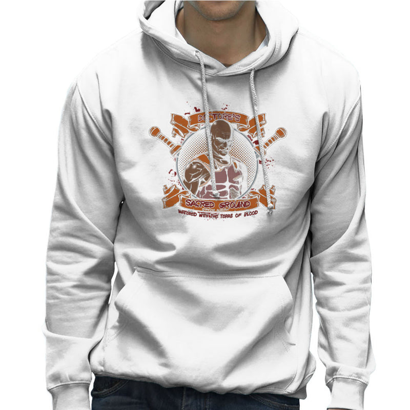 Doctores Sacred Ground Fighting Academy Spartacus Men's Hooded Sweatshirt by AndreusD - Cloud City 7