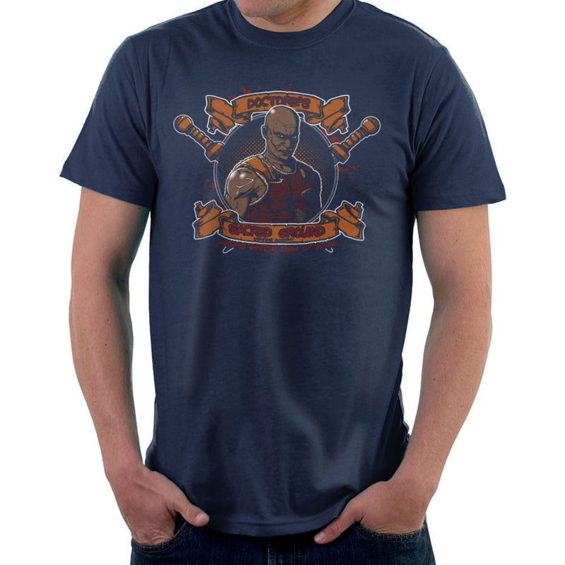 Doctores Sacred Ground Fighting Academy Spartacus Men's T-Shirt by AndreusD - Cloud City 7
