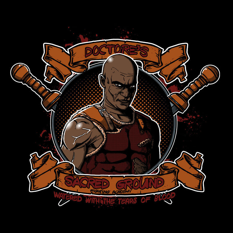 Doctores Sacred Ground Fighting Academy Spartacus Men's Vest by AndreusD - Cloud City 7