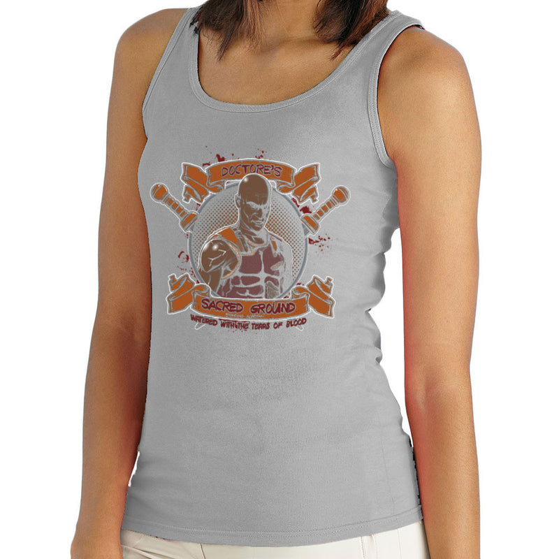 Doctores Sacred Ground Fighting Academy Spartacus Women's Vest by AndreusD - Cloud City 7