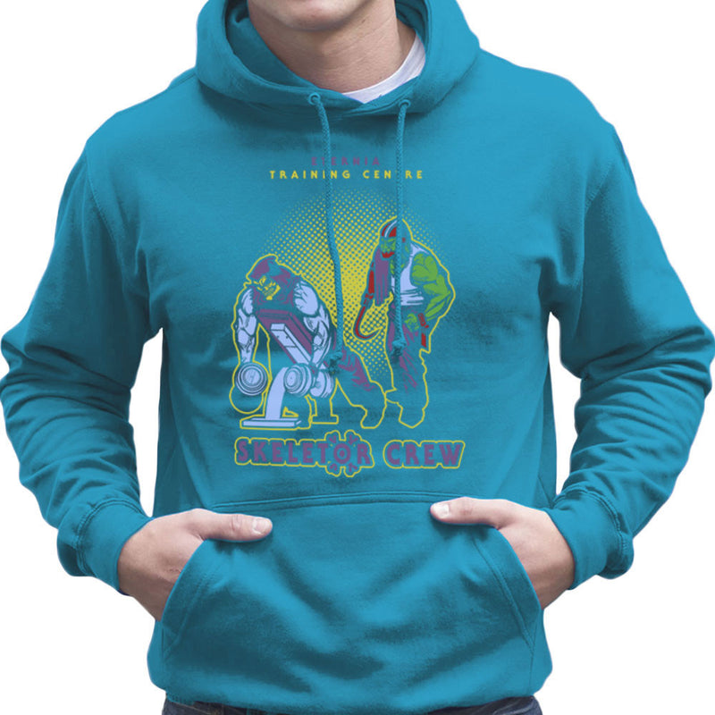 Eternia Training Centre Skeletor Crew He Man Gym Men's Hooded Sweatshirt by AndreusD - Cloud City 7