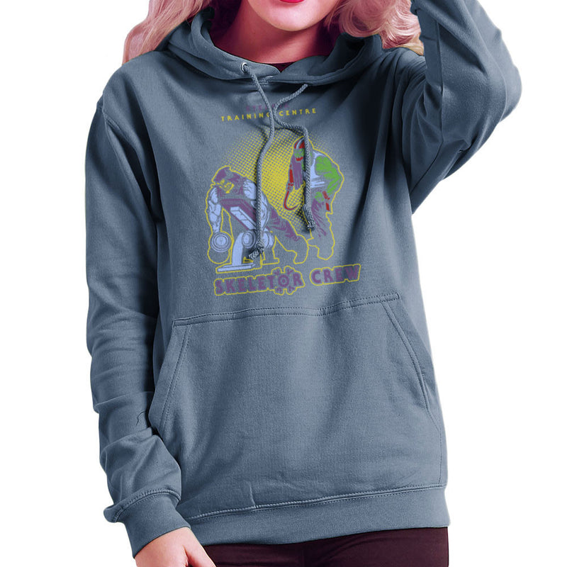 Eternia Training Centre Skeletor Crew He Man Gym Women's Hooded Sweatshirt by AndreusD - Cloud City 7