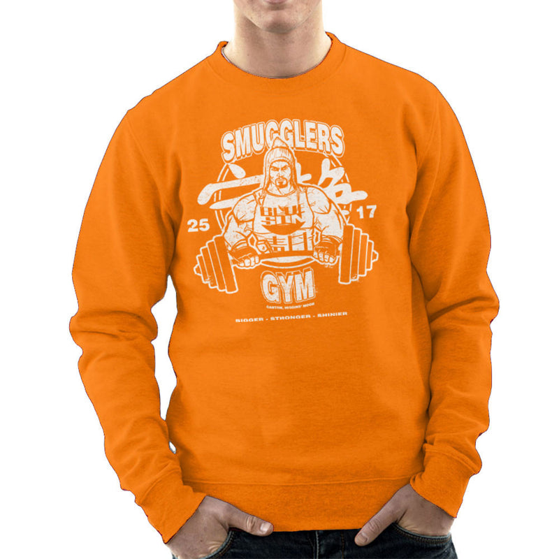 Jayne Smugglers Gym Serenity Firefly Men's Sweatshirt by AndreusD - Cloud City 7