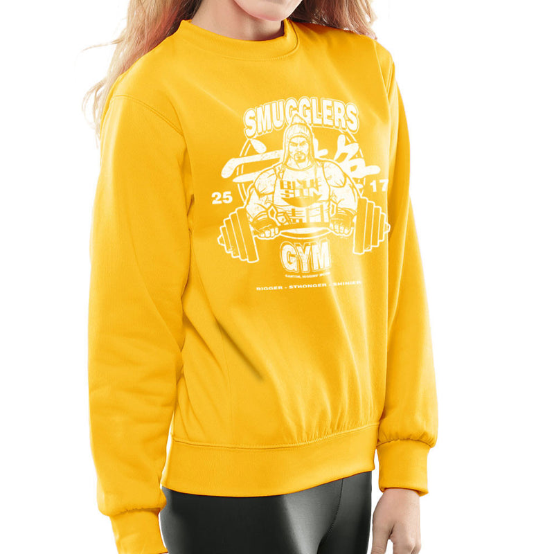 Jayne Smugglers Gym Serenity Firefly Women's Sweatshirt by AndreusD - Cloud City 7