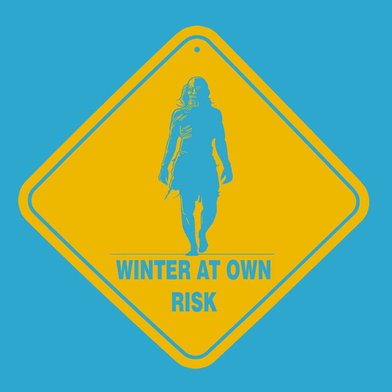 Winter At Your Own Risk White Walkers Game Of Thrones Women's Sweatshirt by AndreusD - Cloud City 7
