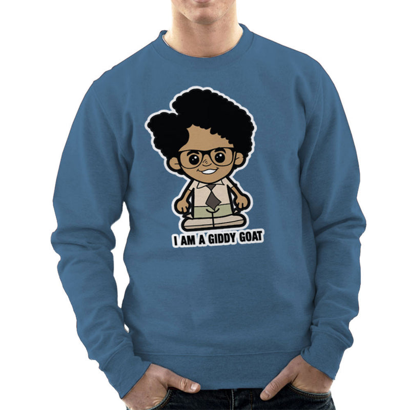 Lil Moss I Am A Giddy Goat IT Crowd Men's Sweatshirt by TopNotchy - Cloud City 7