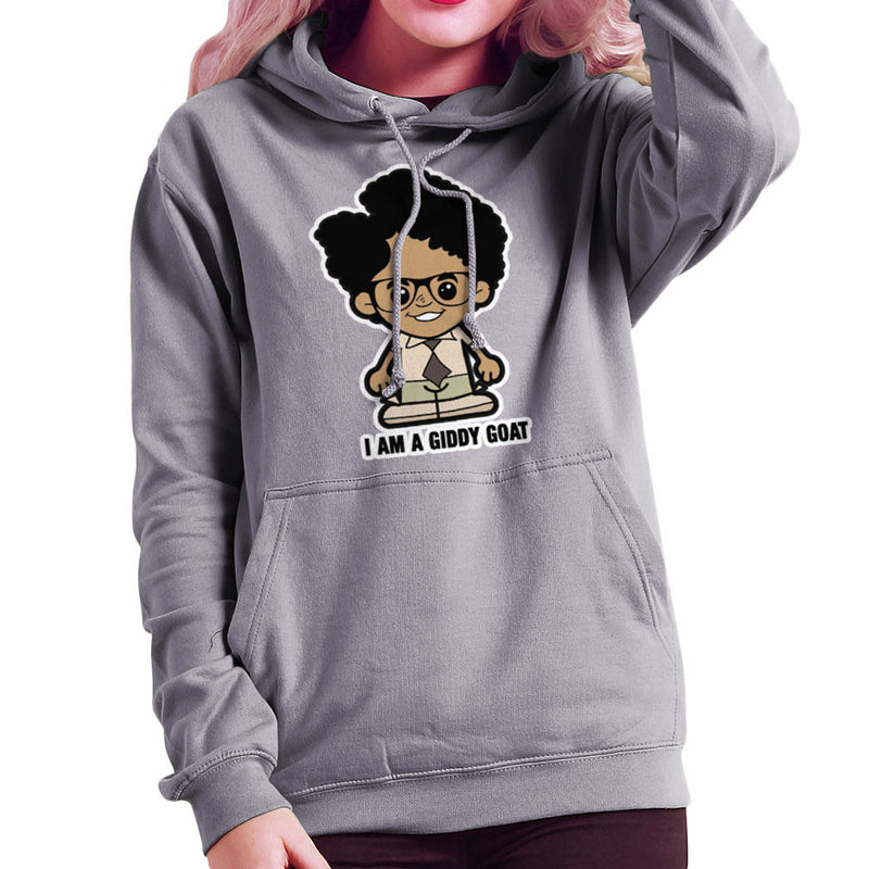 Lil Moss I Am A Giddy Goat IT Crowd Women's Hooded Sweatshirt by TopNotchy - Cloud City 7