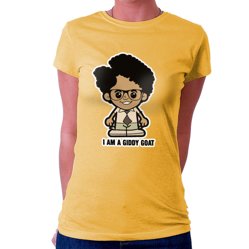 Lil Moss I Am A Giddy Goat IT Crowd Women's T-Shirt by TopNotchy - Cloud City 7