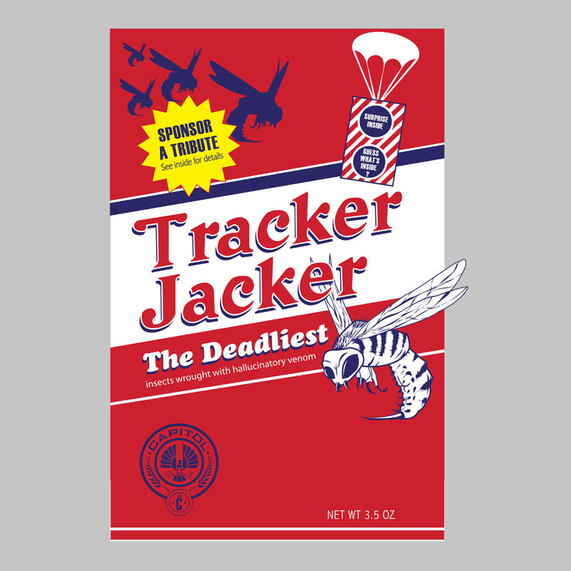 Tracker Jacker Box The Hunger Games Men's Sweatshirt by Dansmash - Cloud City 7