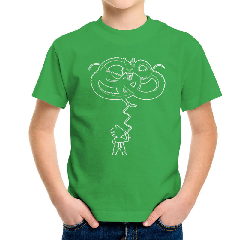Dragon Balloon Dragon Ball Z Kid's T-Shirt by Kempo24 - Cloud City 7