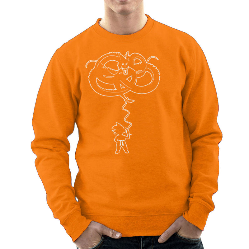Dragon Balloon Dragon Ball Z Men's Sweatshirt by Kempo24 - Cloud City 7