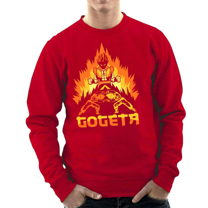 Dragon Ball Z Goteta Super Saiyan Power Up Men's Sweatshirt by Kempo24 - Cloud City 7