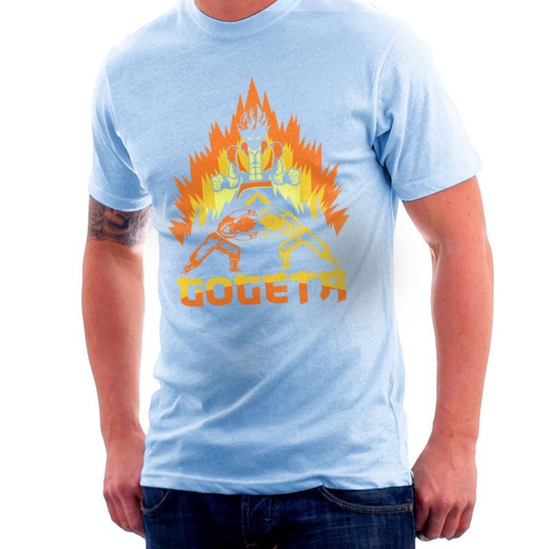 Dragon Ball Z Goteta Super Saiyan Power Up Men's T-Shirt by Kempo24 - Cloud City 7
