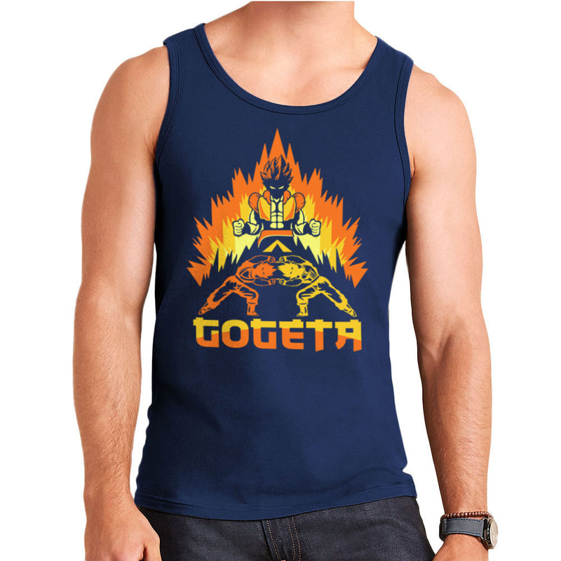 Dragon Ball Z Goteta Super Saiyan Power Up Men's Vest by Kempo24 - Cloud City 7