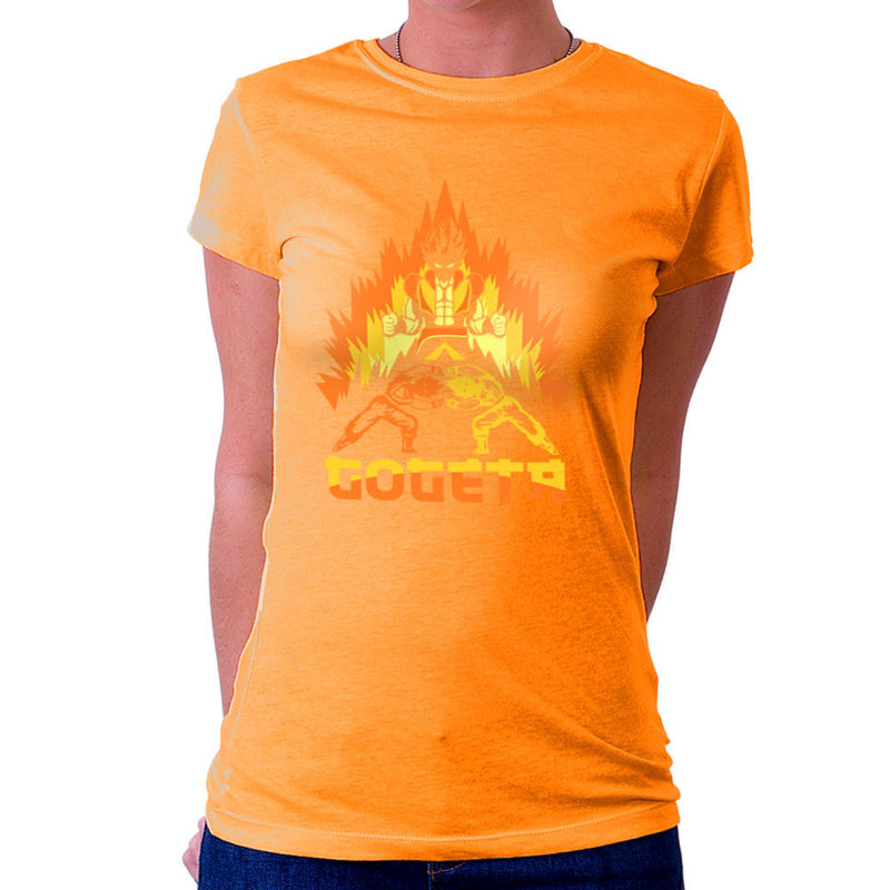 Dragon Ball Z Goteta Super Saiyan Power Up Women's T-Shirt by Kempo24 - Cloud City 7