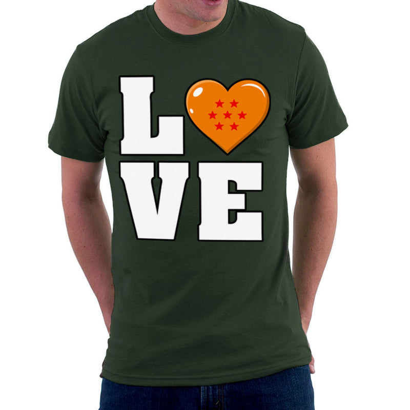 Dragon Ball Z Love Men's T-Shirt by Kempo24 - Cloud City 7