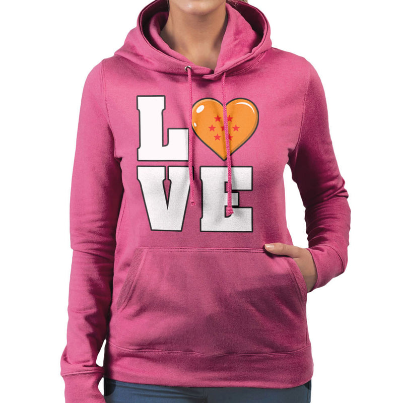 Dragon Ball Z Love Women's Hooded Sweatshirt by Kempo24 - Cloud City 7