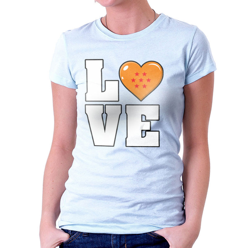 Dragon Ball Z Love Women's T-Shirt by Kempo24 - Cloud City 7