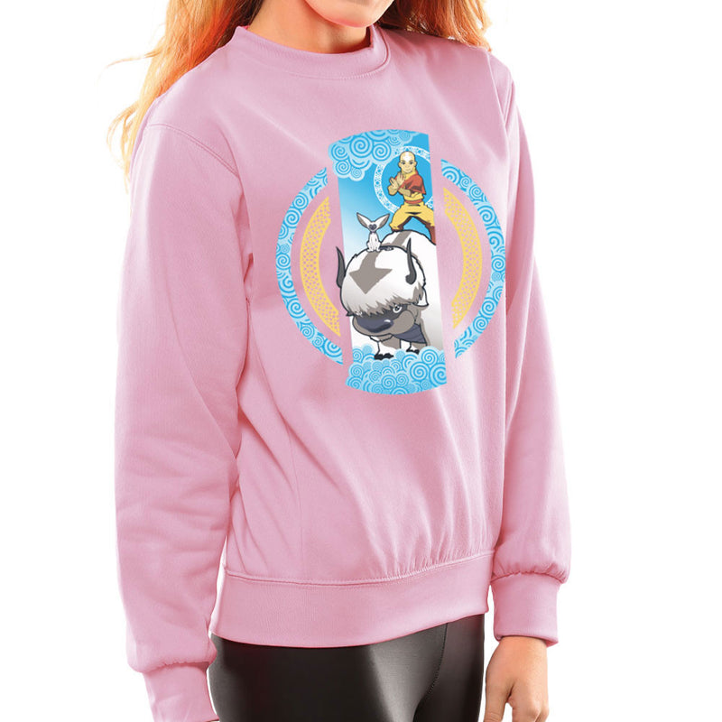 The Element Of Freedom Avatar The Last Airbender Women's Sweatshirt by Kempo24 - Cloud City 7
