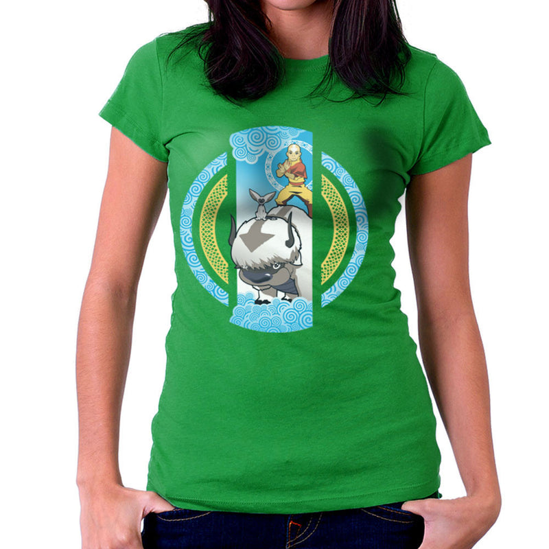 The Element Of Freedom Avatar The Last Airbender Women's T-Shirt by Kempo24 - Cloud City 7
