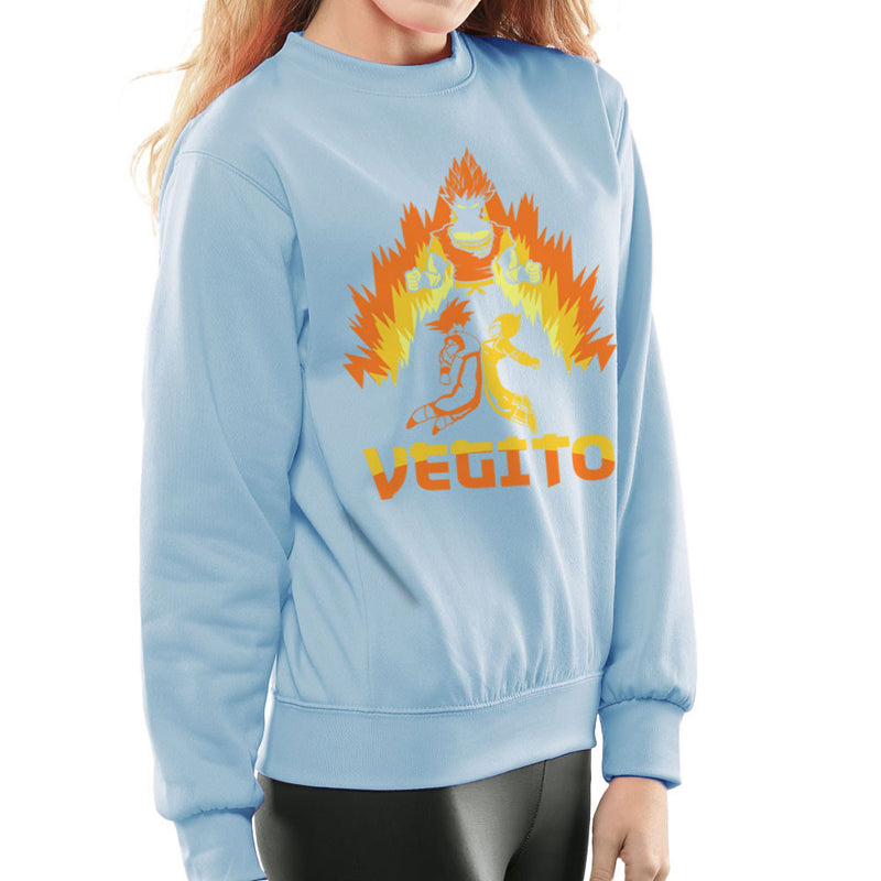 Dragon Ball Z Vegito Super Saiyan Power Up Women's Sweatshirt by Kempo24 - Cloud City 7