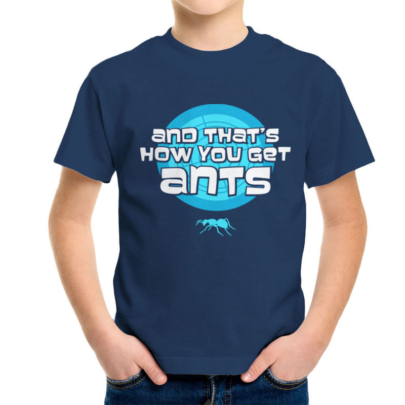 And Thats How You Get Ants Archer Kid's T-Shirt by Fanboy30 - Cloud City 7
