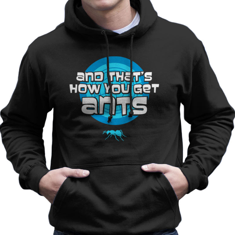 And Thats How You Get Ants Archer Men's Hooded Sweatshirt by Fanboy30 - Cloud City 7