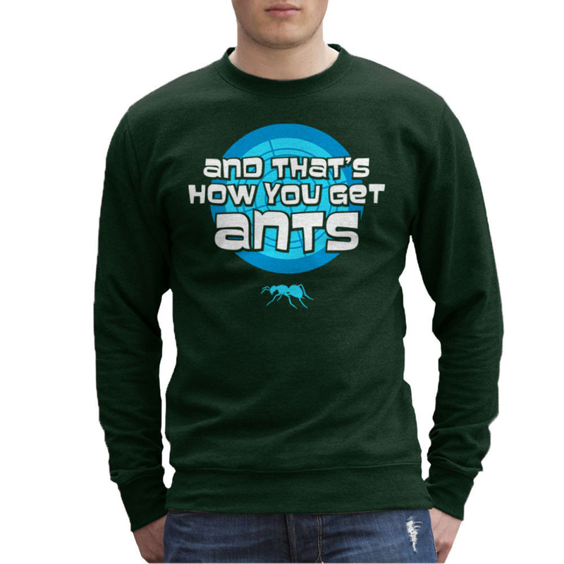 And Thats How You Get Ants Archer Men's Sweatshirt by Fanboy30 - Cloud City 7