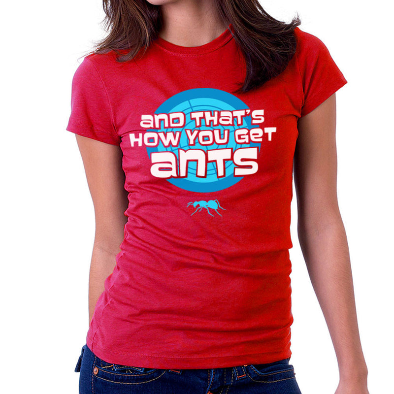 And Thats How You Get Ants Archer Women's T-Shirt by Fanboy30 - Cloud City 7