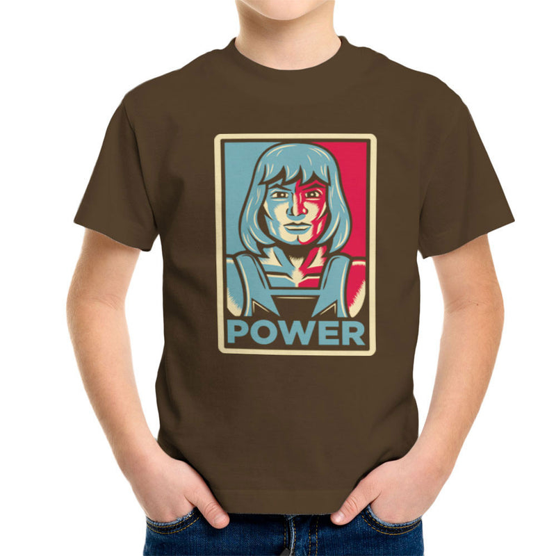 Power He Has It He Man Adam Masters Of The Universe Kid's T-Shirt by Fanboy30 - Cloud City 7