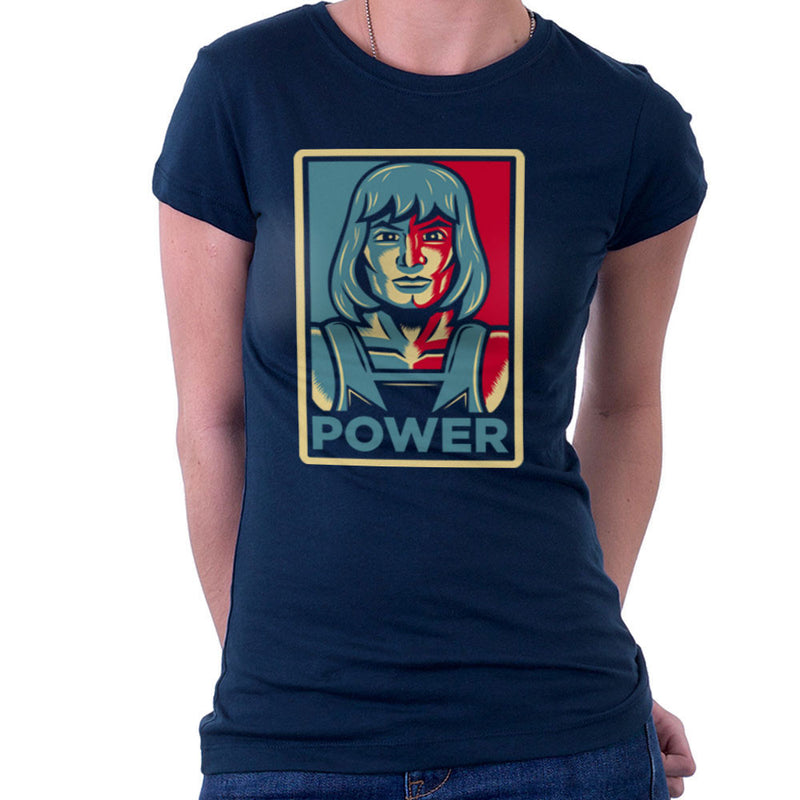 Power He Has It He Man Adam Masters Of The Universe Women's T-Shirt by Fanboy30 - Cloud City 7