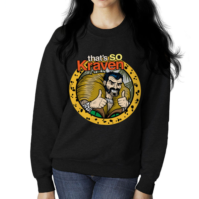 Thats So Kraven The Hunter Sergei Kravinoff Women's Sweatshirt by Fanboy30 - Cloud City 7