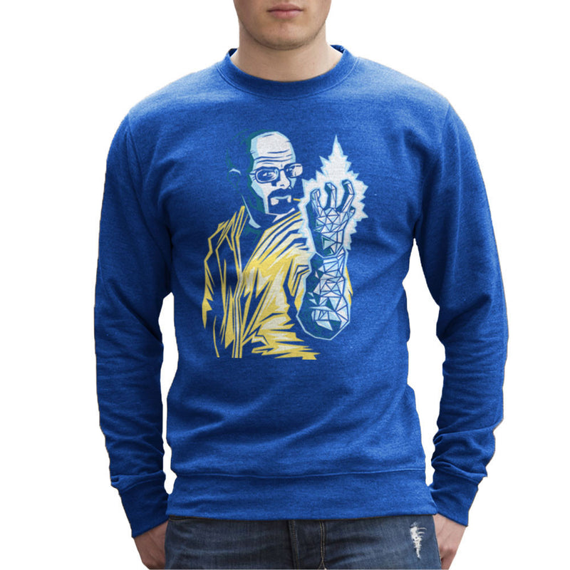The Iceman Cometh Heisenberg Walter White Breaking Bad Men's Sweatshirt by Fanboy30 - Cloud City 7