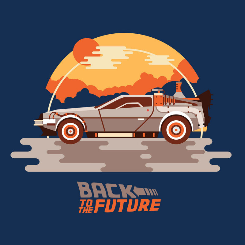 Back To The Future Delorean Clouds by Goodmorningnight - Cloud City 7