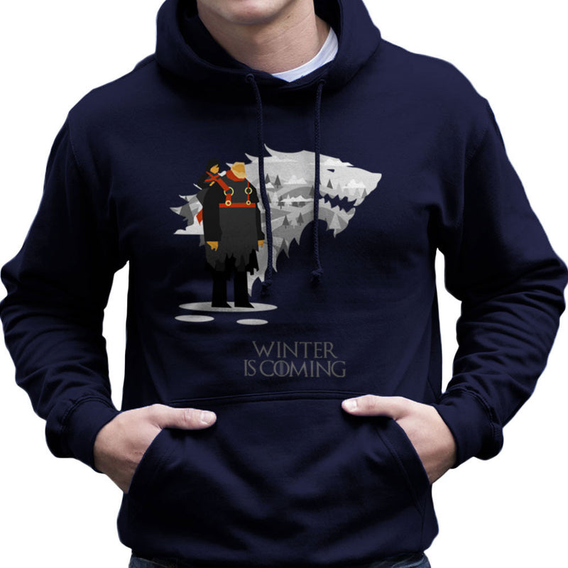Winter Is Coming Bran And Hodor Game Of Thrones Men's Hooded Sweatshirt by Goodmorningnight - Cloud City 7
