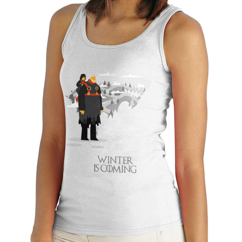 Winter Is Coming Bran And Hodor Game Of Thrones Women's Vest by Goodmorningnight - Cloud City 7