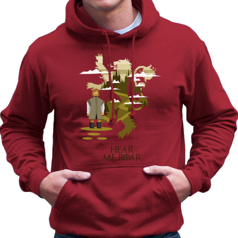 Hear Me Roar Tyrion Lannister Game Of Thrones Men's Hooded Sweatshirt by Goodmorningnight - Cloud City 7