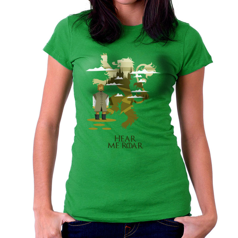 Hear Me Roar Tyrion Lannister Game Of Thrones Women's T-Shirt by Goodmorningnight - Cloud City 7