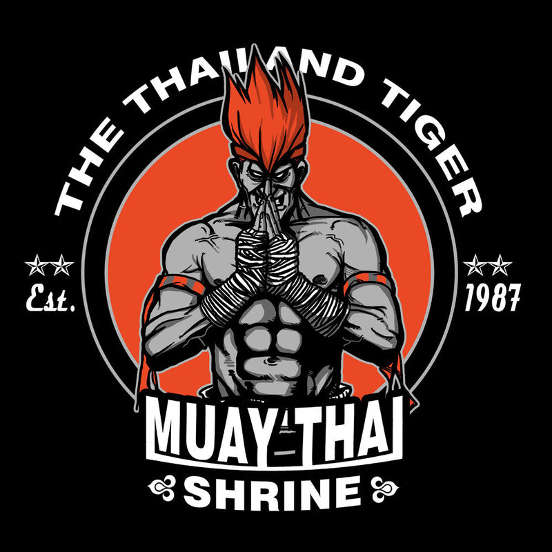 The Thailand Tiger Adon Street Fighter Men's T-Shirt by AndreusD - Cloud City 7