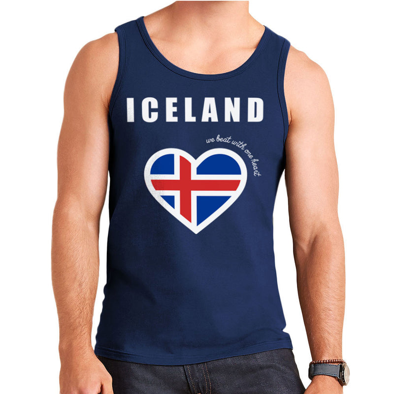 Euro Football Iceland We Beat With One Heart England Victory Men's Vest by Kempo24 - Cloud City 7