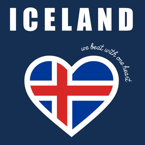 Euro Football Iceland We Beat With One Heart England Victory