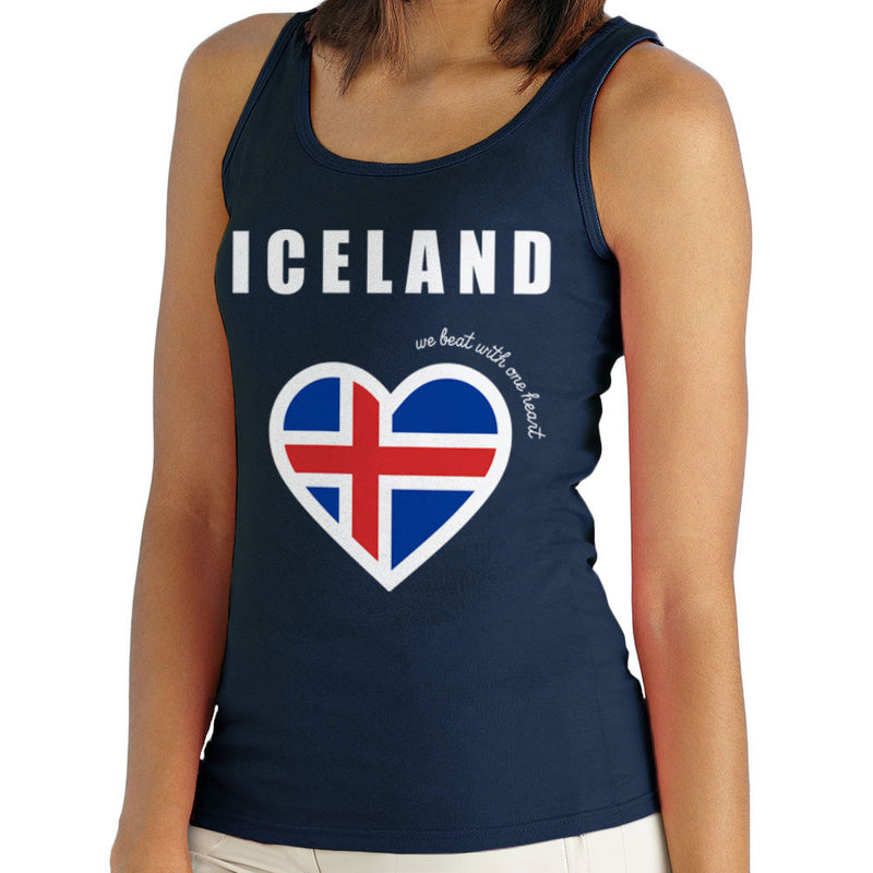 Euro Football Iceland We Beat With One Heart England Victory Women's Vest by Kempo24 - Cloud City 7