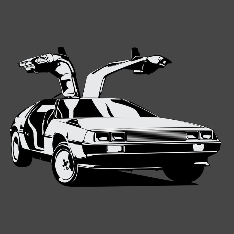 Delorean Back To The Future by DarkChoocoolat - Cloud City 7